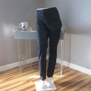 Talbots Heritage Slim Ankle Printed Jeans Size 10